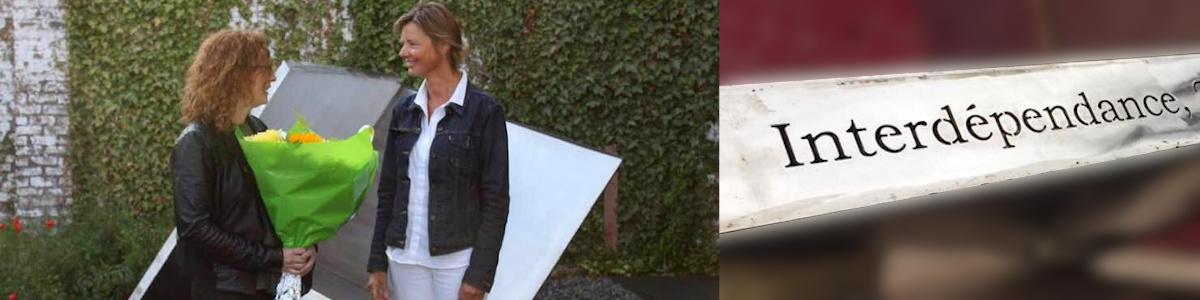 "Deborah Toussaint - Inauguration sculpture ""interdépendance"""